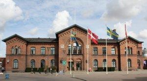 Ystad Railway Station building