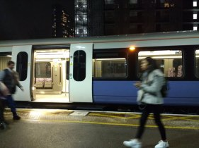 Ilford - Crossrail train