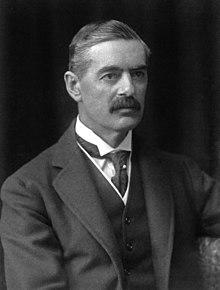 Premier Chamberlain