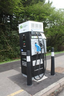 Tfl Rapid Charger for Taxis only, Harold Hill