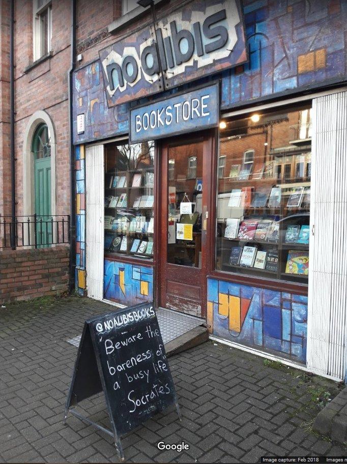 No Alibis bookshop